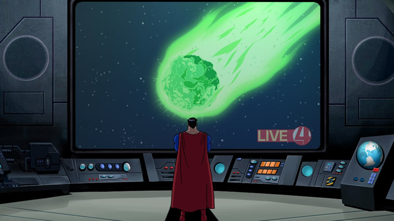 Superman asteroid
