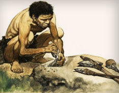 Image result for pictures of the stone age man