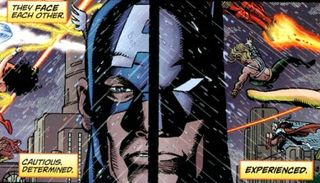 Cap v batman 2