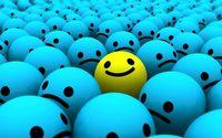 Smiley wallpaper