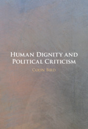 Human dignity and political criticism